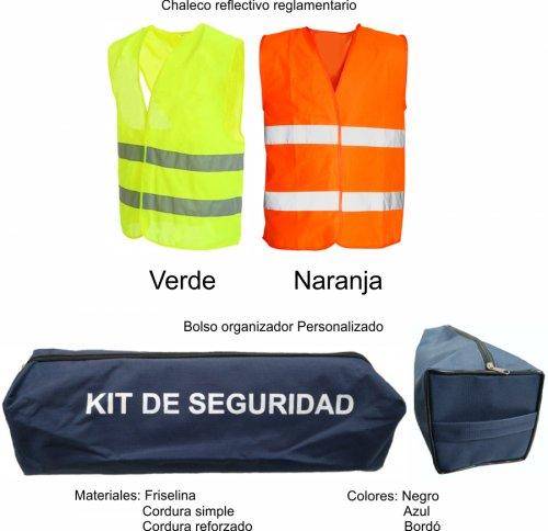 Kit de seguridad Automotor - SEG101 (Medidas)