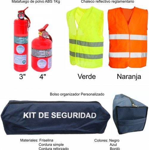 Kit de seguridad Automotor - SEG102 (Medidas)